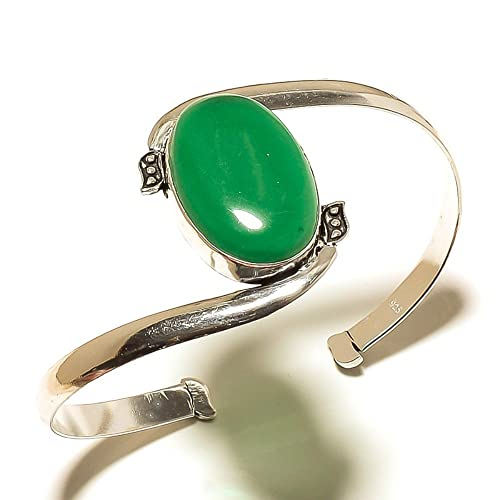 amazon com new online jewelry green onyx sterling silver overlay