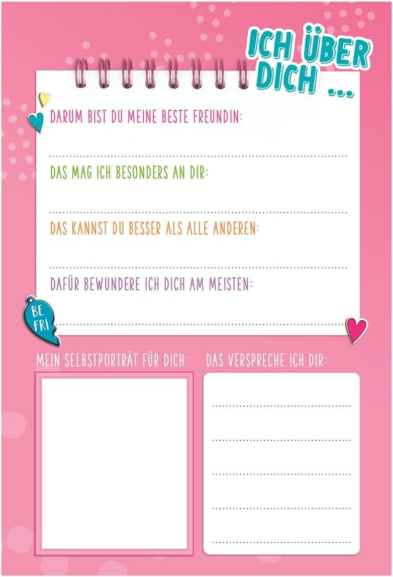TopModel Geheim-Tagebuch BFF Tagebuch für beste Freundinnen Depesche 10017