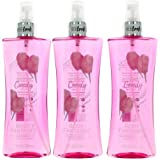 Cotton Candy by Body Fantasies, 3 Pack 8 oz Fragrance Body Spray women