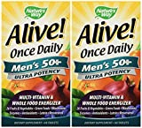Nature's Way Alive Once Daily Men's 50+ 120 Capsules Review
