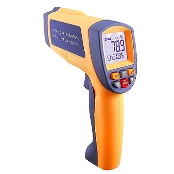Digital por infrarrojos láser termómetro con 50 es a 1 relación de distancia y -18