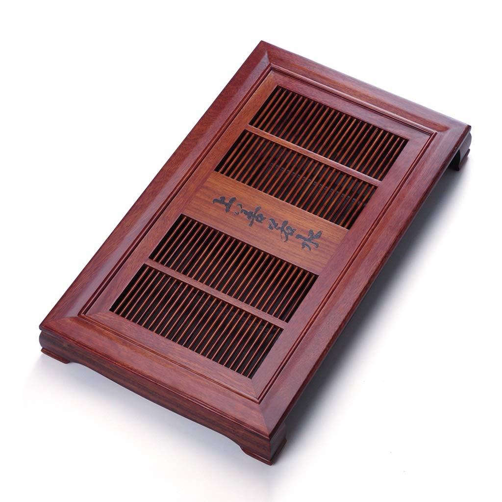 ティー用品 無垢材製ティートレイ排水用貯水テーブルカンフーティーセット家庭用ティートレイ最高の贈り物 コーヒーティー用品 (Color : Brown, Size : 68*40*7cm) B07MFV8MQ7 Brown 68*40*7cm