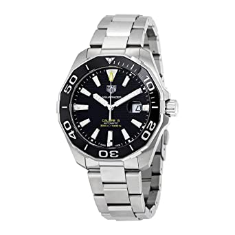 97183fb1c76 Image Unavailable. Image not available for. Color: Tag Heuer Aquaracer  Calibre 5 Automatic Watch 43mm ...