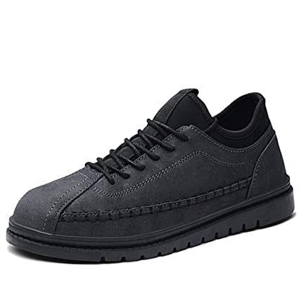 Zaqxs Men s Low-top Casual Shoes Breathable Leather Safety Shoes with  Composite Steel Toe Cap 62ba49671