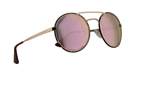 84e81aeac1 Amazon.com  Prada PR51SS Catwalk Sunglasses Pale Gold Dark Havana w ...