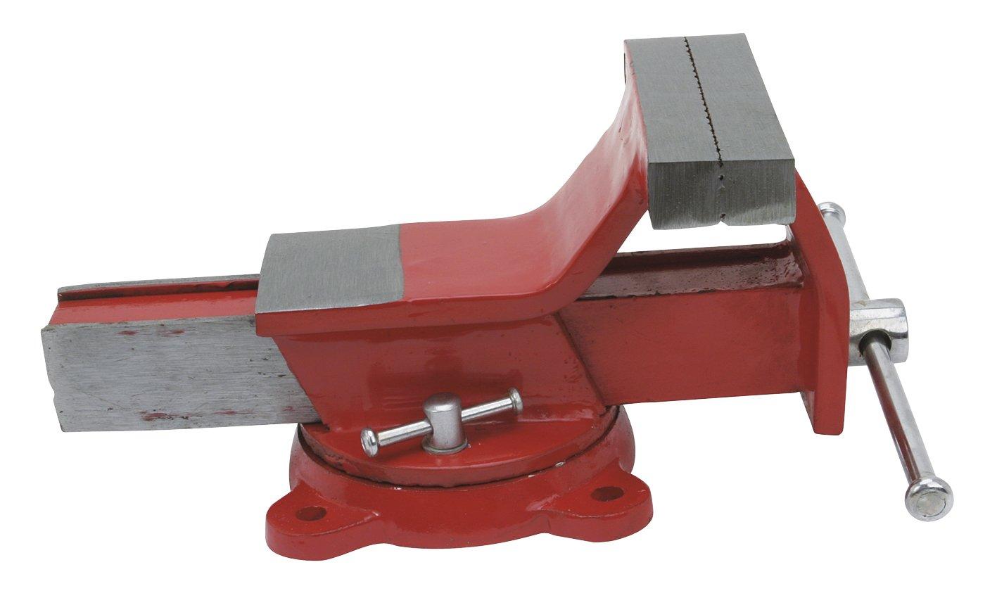 Cogex 64306/Schraubstock aus Stahl mit schwenkbarem Sockel