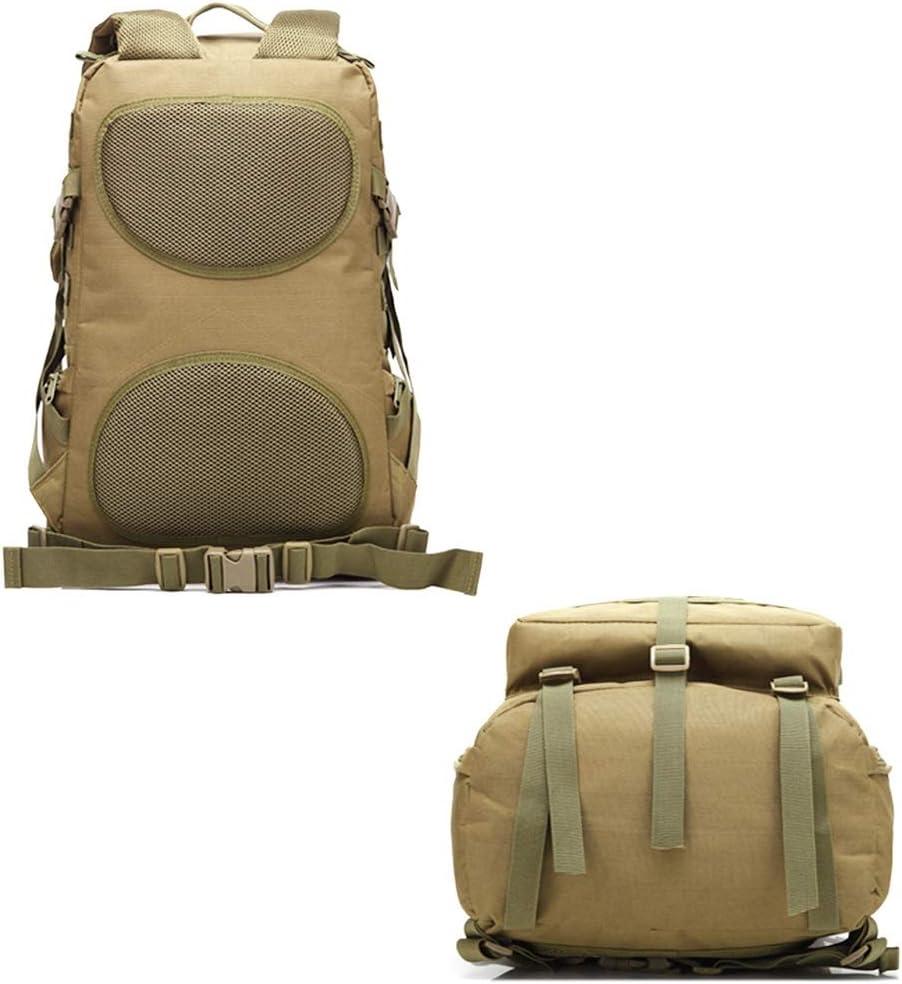 GYZ 45L Zaino dell\'Esercito Assault Borse Esterna Escursionismo Caccia di Campeggio del Sacchetto Camo Grande capacità 3P Bag Escursionismo Zaino E JNCGM