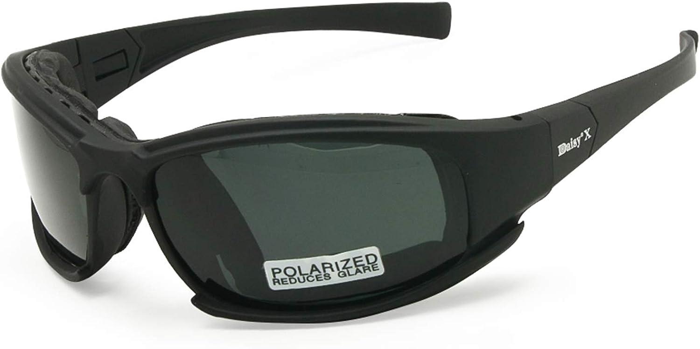Daisy X7 Tactical 4Lens Sunglasses Military Goggles Polarized Lenses Glasses Kit