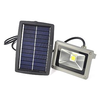 10w Solar Energie Led Scheinwerfer Aufladbare Garten Strahler