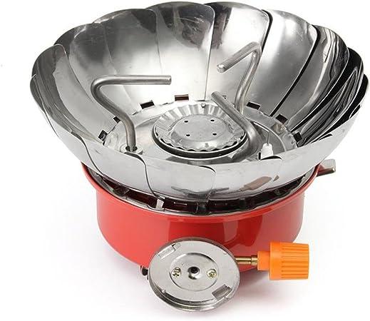 Likar – Kit de cocina para camping Mini estufa de Aleación de ...