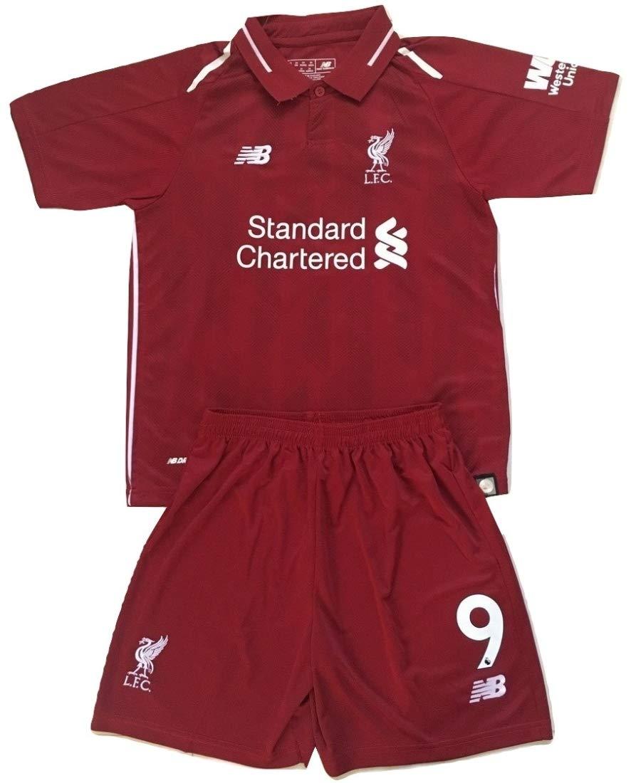 detailed look 30fd7 ca14e Amazon.com : Anelia-Jerseys Firmino #9 Liverpool FC 2018 ...