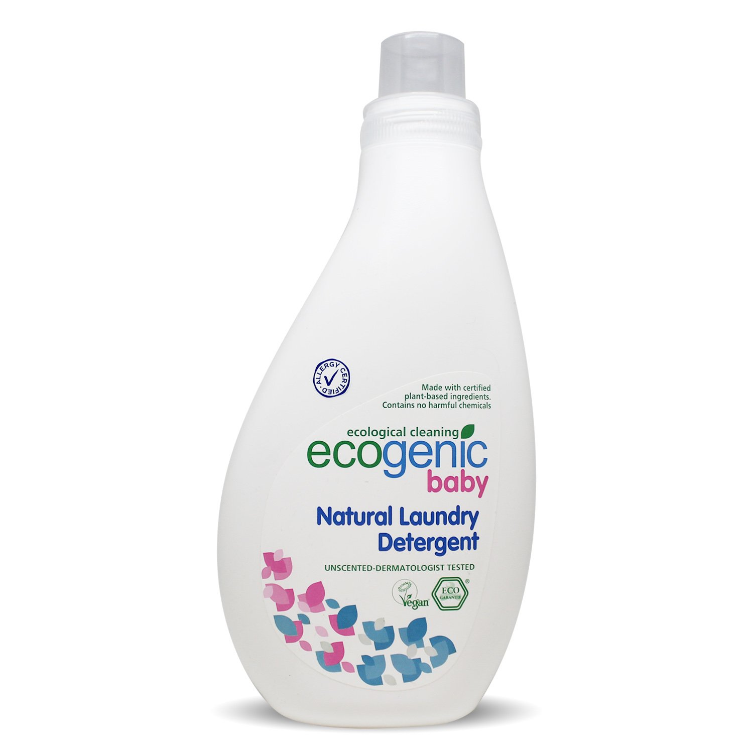 Ecogenic Baby Liquid Laundry Detergent, Natural Organic, 1000  ml, for baby, Biodegradeable (1000ml), 1 x 1000ml 1000 ml
