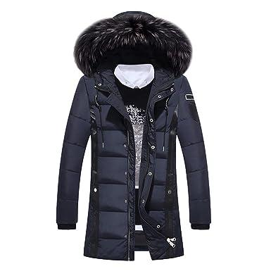 Manteau doudoune longue sans couture homme