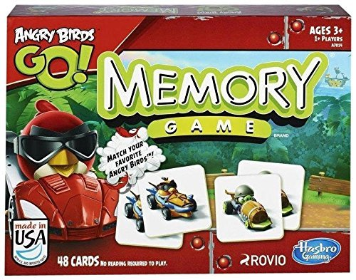 (Hasbro Games Angry Birds Go! Memory Game)