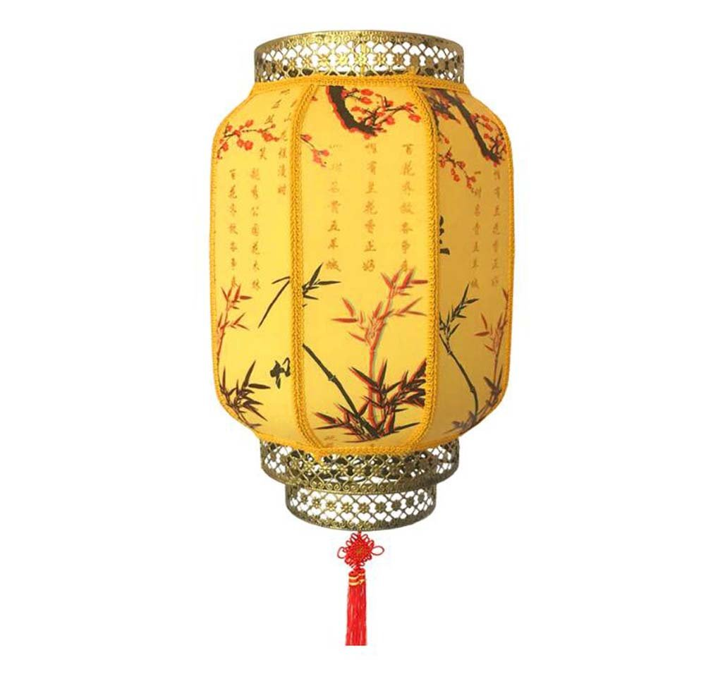 DRAGON SONIC Outdoor Imitation Classical Lantern Chinese Style Hanging Lantern,C3