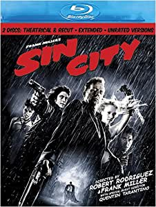 Sin City (Two-Disc Theatrical & Recut, Extended, and Unrated Versions) [Blu-ray]