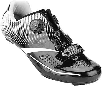 Alomejor 1 par de Zapatos de Ciclismo de Moda Antideslizantes SPD ...