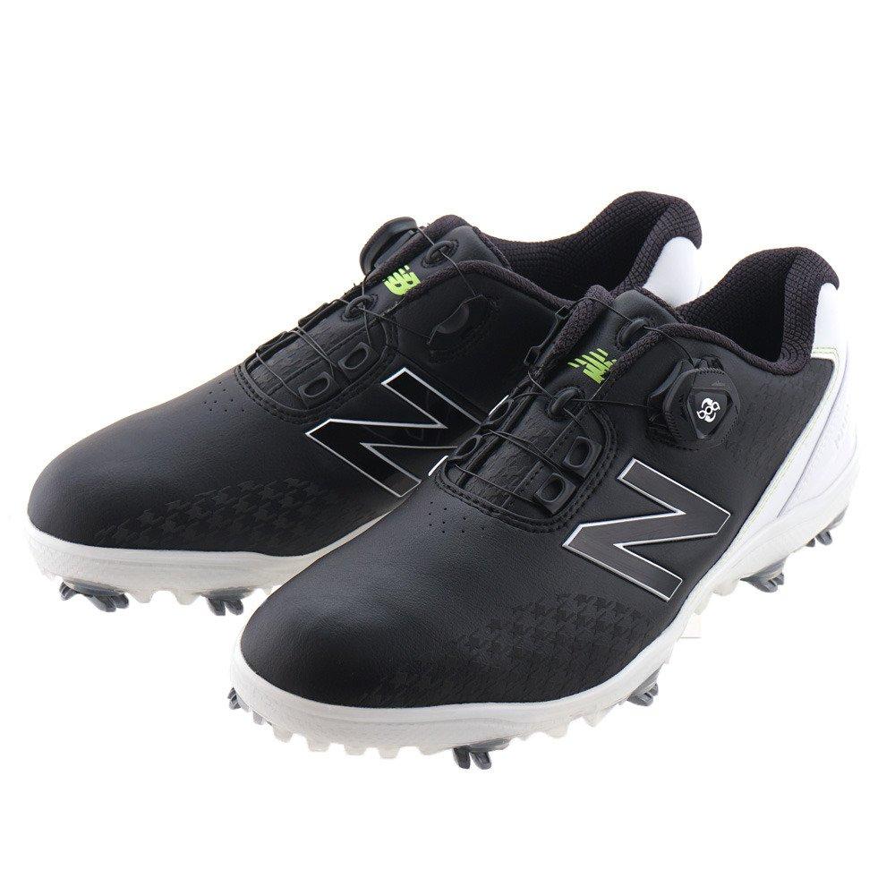 [ニューバランス] シューズ ゴルフ シューズ MG1000 29.5 cm ブラック/ホワイト B0773CYRCG