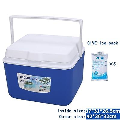 Isolation de sac de refroidisseur à double usage peut / boîte portable pour la pêche de pique-nique à l'extérieur de conservation Fraîcheur seau à glace voiture Borne donne de gla
