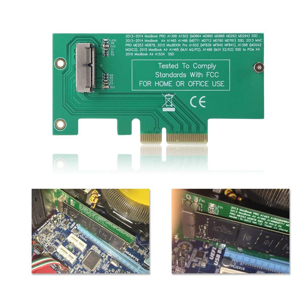 Pasamer Tarjeta adaptadora de Disco Duro a PCI-E SSD para ...