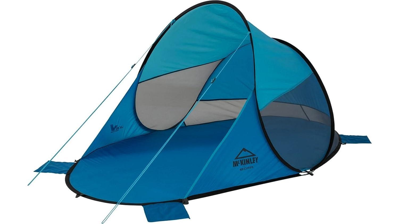Abri de plage pop-up-bora-turquoise/bleu