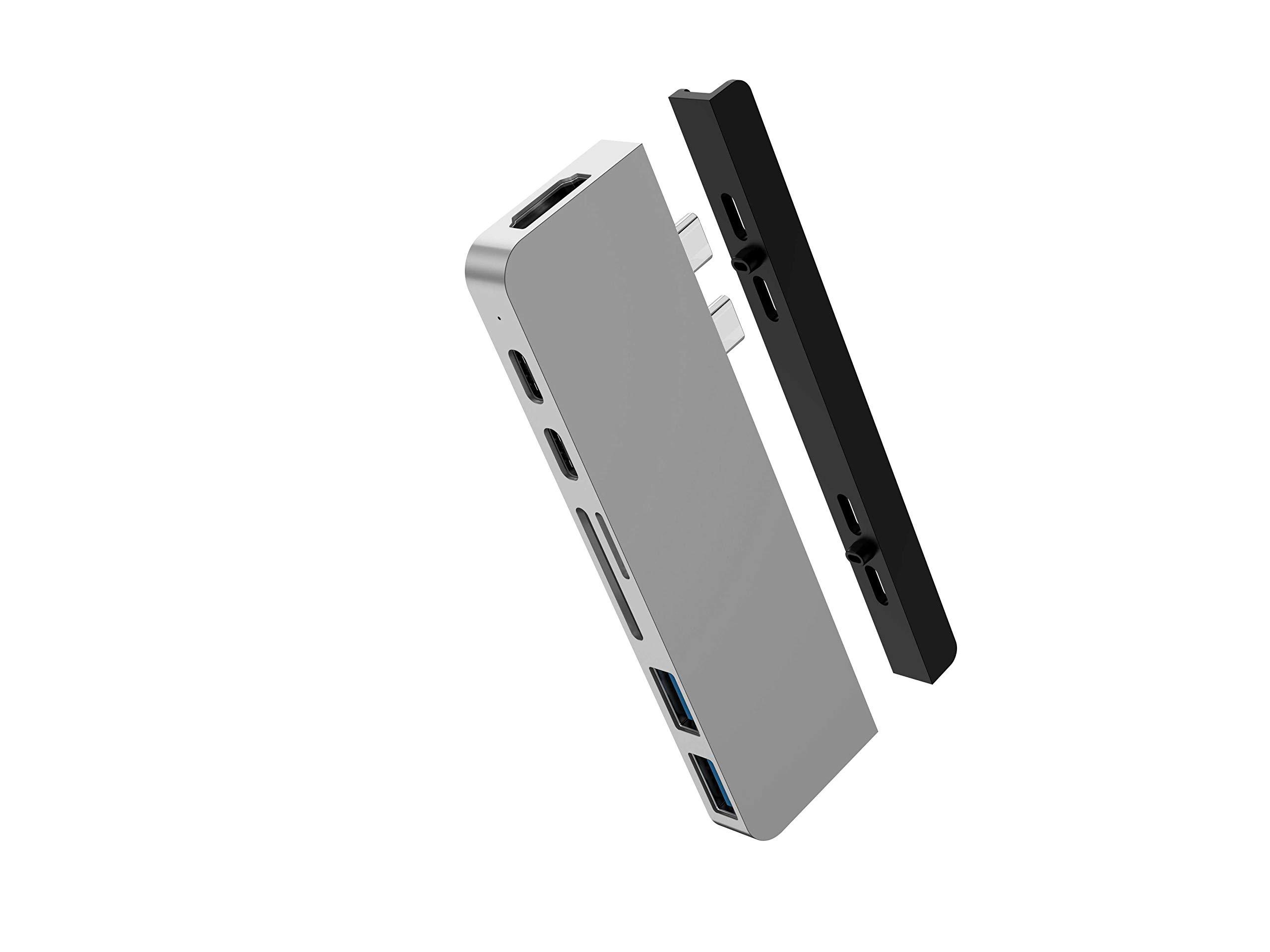 HyperDrive USB-C Hub Mac Type-C Dual Hub Adaptador For MacBo
