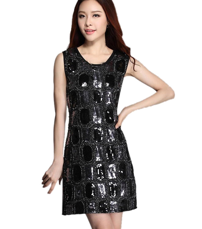 La vogue Damen Partykleid Abendmode Ärmellos Festkleid One size kaufen