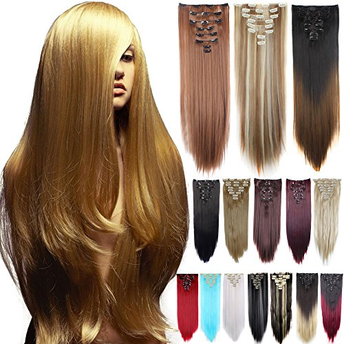 Days Delivery 8PCS Straight Extensions