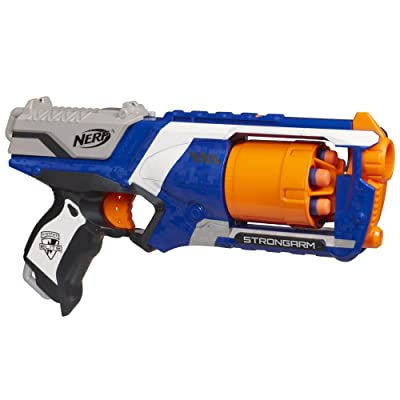 Nerf N-Strike Elite Strongarm Double Your Darts Blaster: Toys & Games