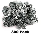 1'' One Inch Plaster Repair Washers Ceiling Buttons (300 pieces)