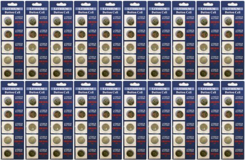 100 x Powertron Lithium Coin 3V CR1616 1616 button cell b. Cr 1616 battery   Compare Prices at Nextag
