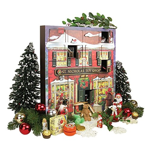 Byers' Choice St. Nick's Toy Shoppe Musical Advent Calendar #MC16 by Byers' Choice (Image #2)