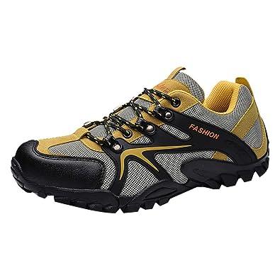LMRYJQ Schuhe Herren Sneaker Männer rutschfeste Wanderschuhe