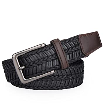 9fb0e91cc660 Nouveau Style ceinture luxe tissu ceinture homme, Homme, noir ...