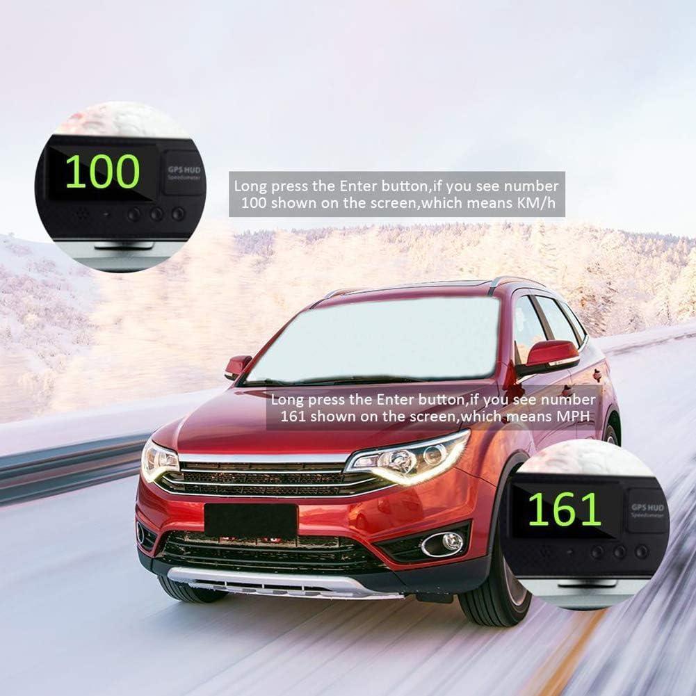 tachimetro ABS GPS Taglia Libera Universale Guida sicura Digitale Facile da installare Come da Immagine NANAD utile contachilometri contachilometri Allarme preciso