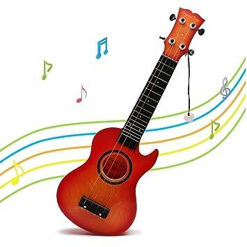 Wishtime Guitarra Musical Ukulele Juguetes Educativos Guitarra ...