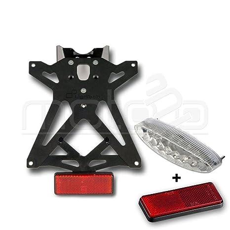 Auto e moto: ricambi e accessori Lightech Portatarga Regolabile con Faro Posteriore per KTM 690 Duke 2012 12 Moto: ricambi