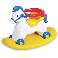PA Toys Napolean Horse 2 in 1, 50988 Multi Color for Kids (Color May Very)