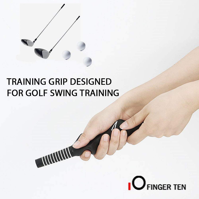 Finger Ten Golf Club Grip - Juego de 2 empuñaduras para ...