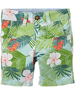 Baby Boy's Tropical Print Shorts (3 Months)