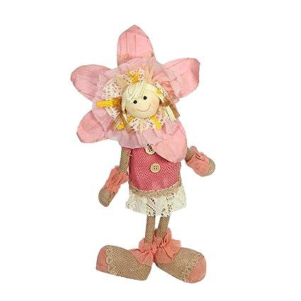 """Amazon.com: 13.5"""" Rosa, Color Crema y Camel Primavera ..."""