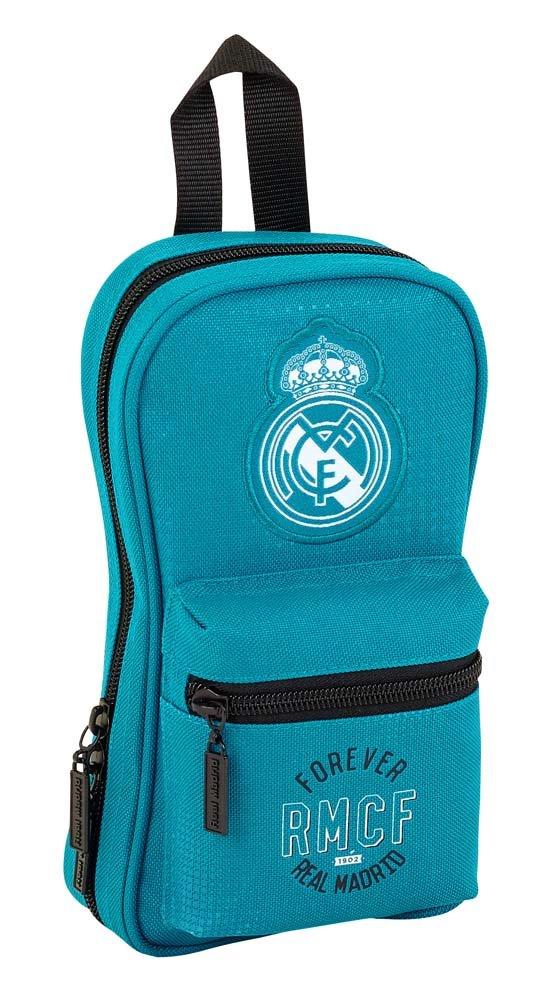 Safta Neceser Con 4 Estuches Real Madrid 3ª Equip. 17/18 Oficial 120x50x230mm