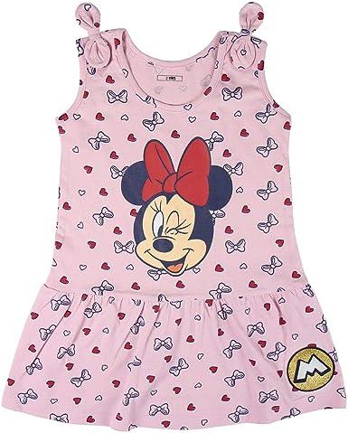 Cerdá Vestidos Niña Disney Minnie Mouse-Color Rosa Niñas: Amazon.es: Ropa y accesorios