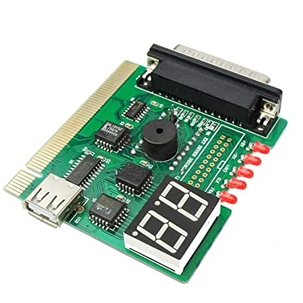 22dbbf2b0835 uniquegoods 2 Digits Led with USB PCI PC Notebook Laptop Analyzer  Diagnostic Motherboard Post Card