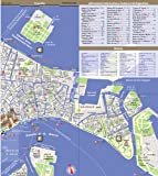 StreetSmart Venice Map by VanDam-Laminated, pocket sized city street map with 3D icons of museums, sights, hotels plus Vapporetto Transit map. Murano ... 2012 (English, Italian and German Edition)