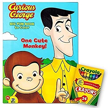 Amazon.com: Curious George Coloring Book (3 Pack): Toys & Games