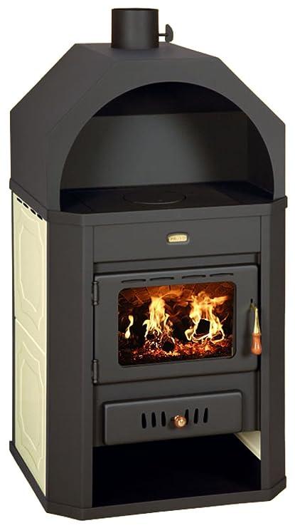 Diseño de chimenea para estufa caldera, Prity W17: Amazon.es ...