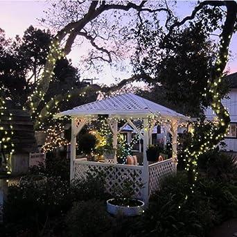 Asdomo - Guirnalda de luces de 20 luces LED para exteriores ...