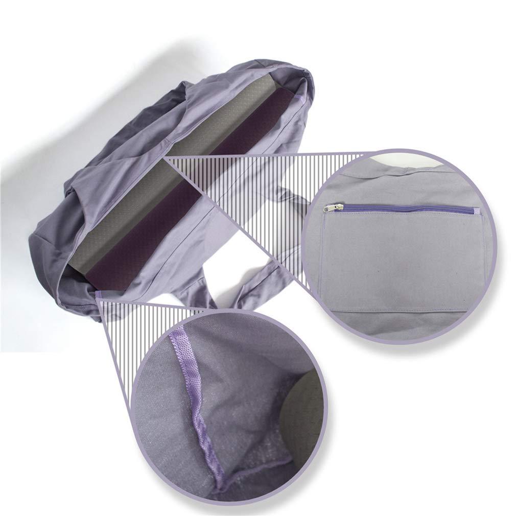 Bolsa Grande para Esterilla de Yoga Faliya Color Gris tama/ño As Description