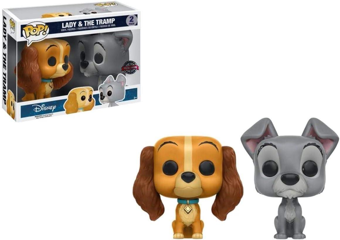 Funko - Figurine Disney - Lady & The Tramp Exclusive Bi-Pack Pop ...
